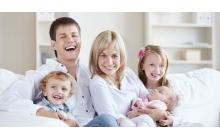 Скидка на услуги многодетным семьям - 5%